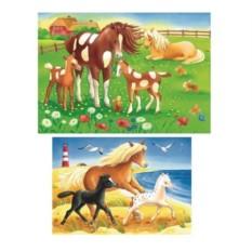 Пазл Красивые лошадки от Ravensburger
