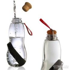 Эко-бутылка Eau good с фильтром (цвет: красный)