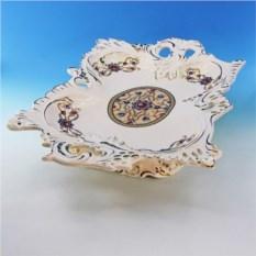 Керамическая ваза для фруктов с хрусталиками Бельведер