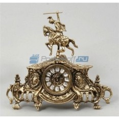 Каминные часы из бронзы Джакобо
