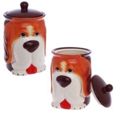 Емкость для сыпучих Рыжий пес