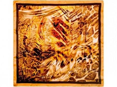 Шелковый платок Jean-Louis Scherrer Safari