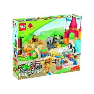 Набор Lego Duplo Огромный Зоопарк