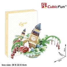 3D пазл Cubic Fun Городской пейзаж - Лондон