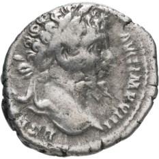 Денарий Римской Империи Септимий Север 193-211 гг
