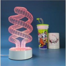 3D светильник Спираль 2