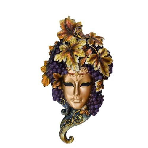 Венецианская маска Виноградный хмель