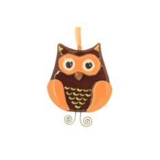 Интерьерная подвеска «Веселая сова»