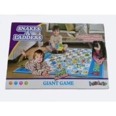 Детский игровой коврик Змеи и лестницы