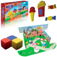 Тянущийся пластилин Эластик Candy land