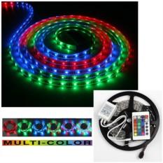 Светодиодная многоцветная лента с пультом и контроллером