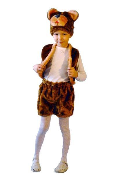 Карнавальный костюм Мишка, 3-7 лет