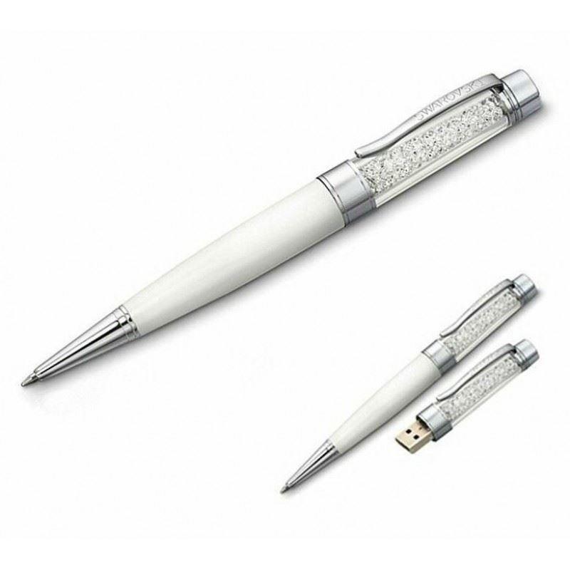 Флешка-ручка с кристаллами Swarovski