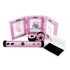 Детский розовый подарочный набор