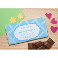 Шоколадная открытка Амур
