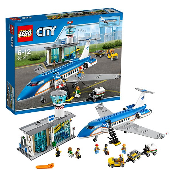 Конструктор Lego City Пассажирский терминал аэропорта