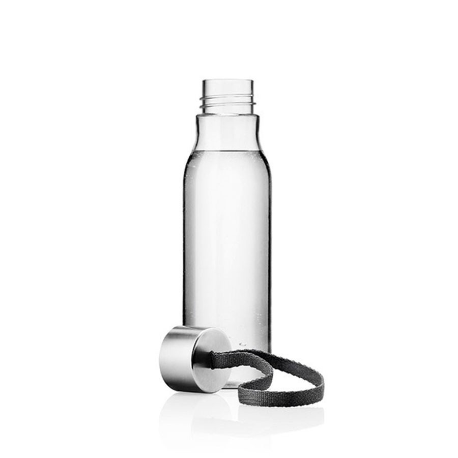 Чёрная бутылка для воды