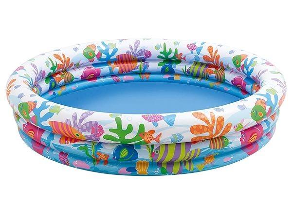 Надувной бассейн Рыбки