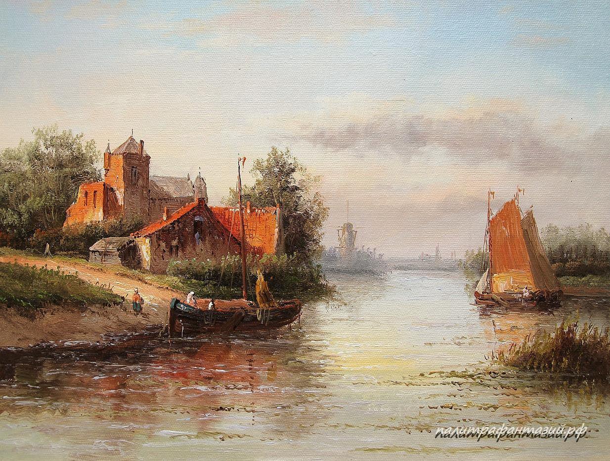 Картина Средневековая Голландия