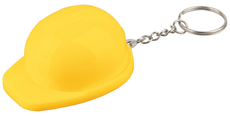 Желтый брелок-открывалка «Каска»