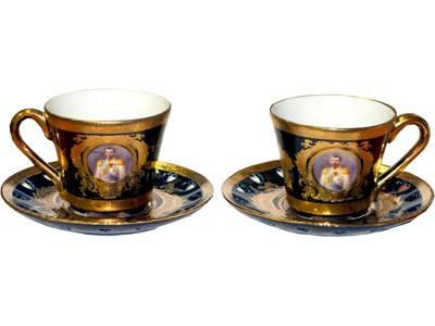 Элитный чайный набор «Николай Романов»