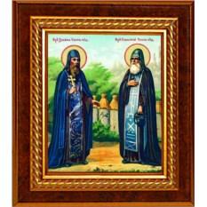 Икона Зосима и Савватий Соловецкие преподобные чудотворцы