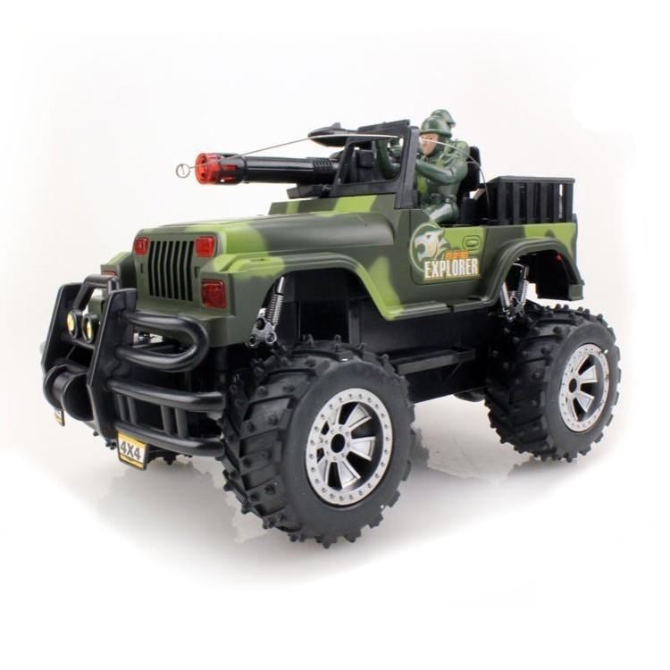 Радиоуправляемый военный джип Army Car 1:16