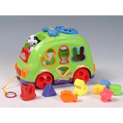 Детская игрушка Автобус-сортировщик
