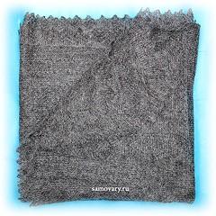 Оренбургский платок, пуховый