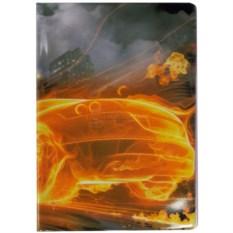 Обложка для паспорта Огненная машина