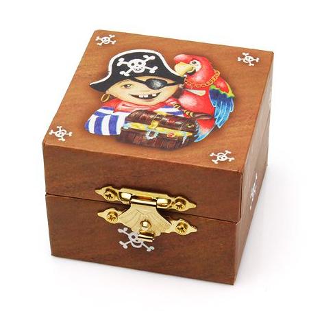 Коробочка для первого зубика «Пират»
