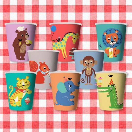 Бумажные стаканчики Party Animals