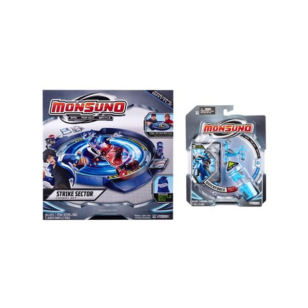 Игровой набор Monsuno Мобильный манеж + подарок