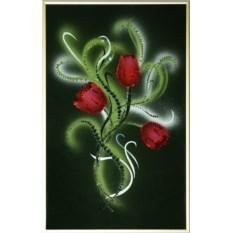 Картина с кристаллами Swarovski Весеннее настроение
