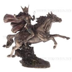 Декоративная фигурка Валькирия на лошади