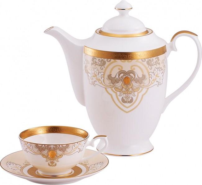 Чайный сервиз из 14 предметов на 6 персон Baroque