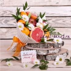 Букет из фруктов Любимой маме