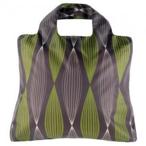 Эко-сумка Орнамент зеленая
