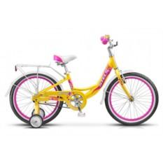 Детский велосипед Stels Pilot 210 Lady (2015) Yellow