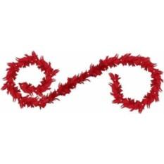 Новогоднее интерьерное украшение из перьев Гирлянда