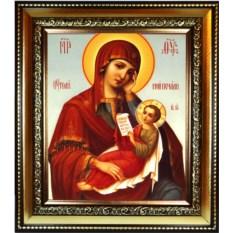 Икона Божьей Матери на холсте Утоли моя печали