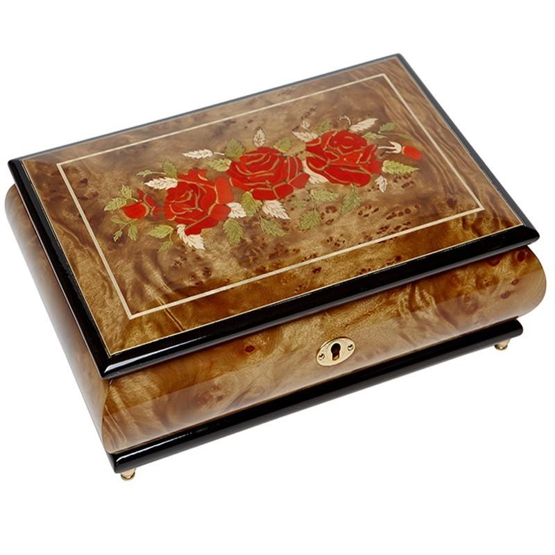 Музыкальная шкатулка для ювелирных украшений, AW-02-074