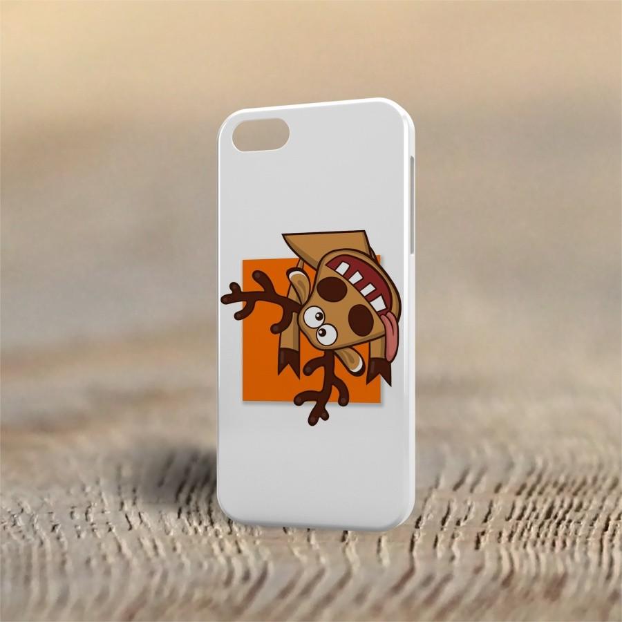 Чехол для iphone 4/5s Олень сумасшедший. Подслушано