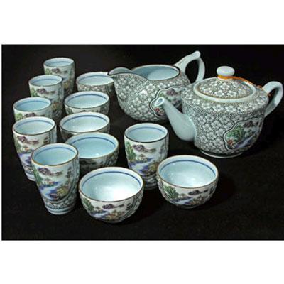 Сервиз для чайной церемонии «Слива Мэй Хуа»