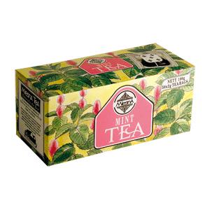 Чай черный с ароматом мяты