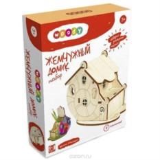 Деревянный конструктор Жемчужный домик