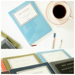 Дневник Invite L голубой