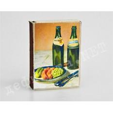 Спички сувенирные «К пиву»