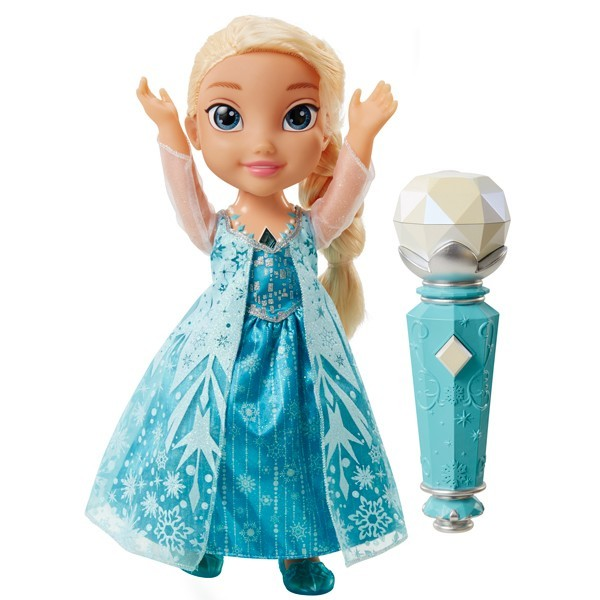 Поющая кукла Эльза. Холодное Сердце. Принцессы Дисней