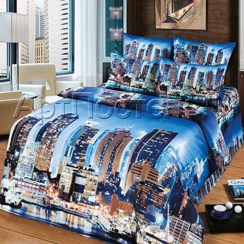 Комплект постельного белья Мегаполис (2 спальный)